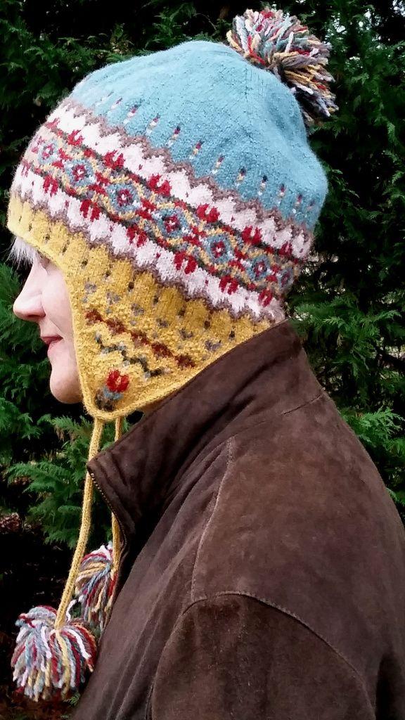 Sagebrush Chullo Fair Isle knitting kit and knitting pattern ...