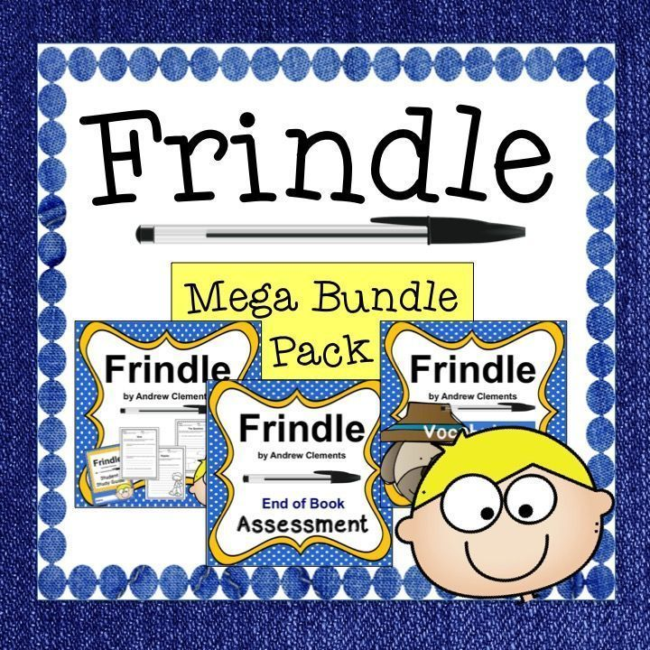 This mega bundle includes everything you need to teach the novel this mega bundle includes everything you need to teach the novel frindle by andrew clements excellent for differentiated instructionbundle incl publicscrutiny Gallery