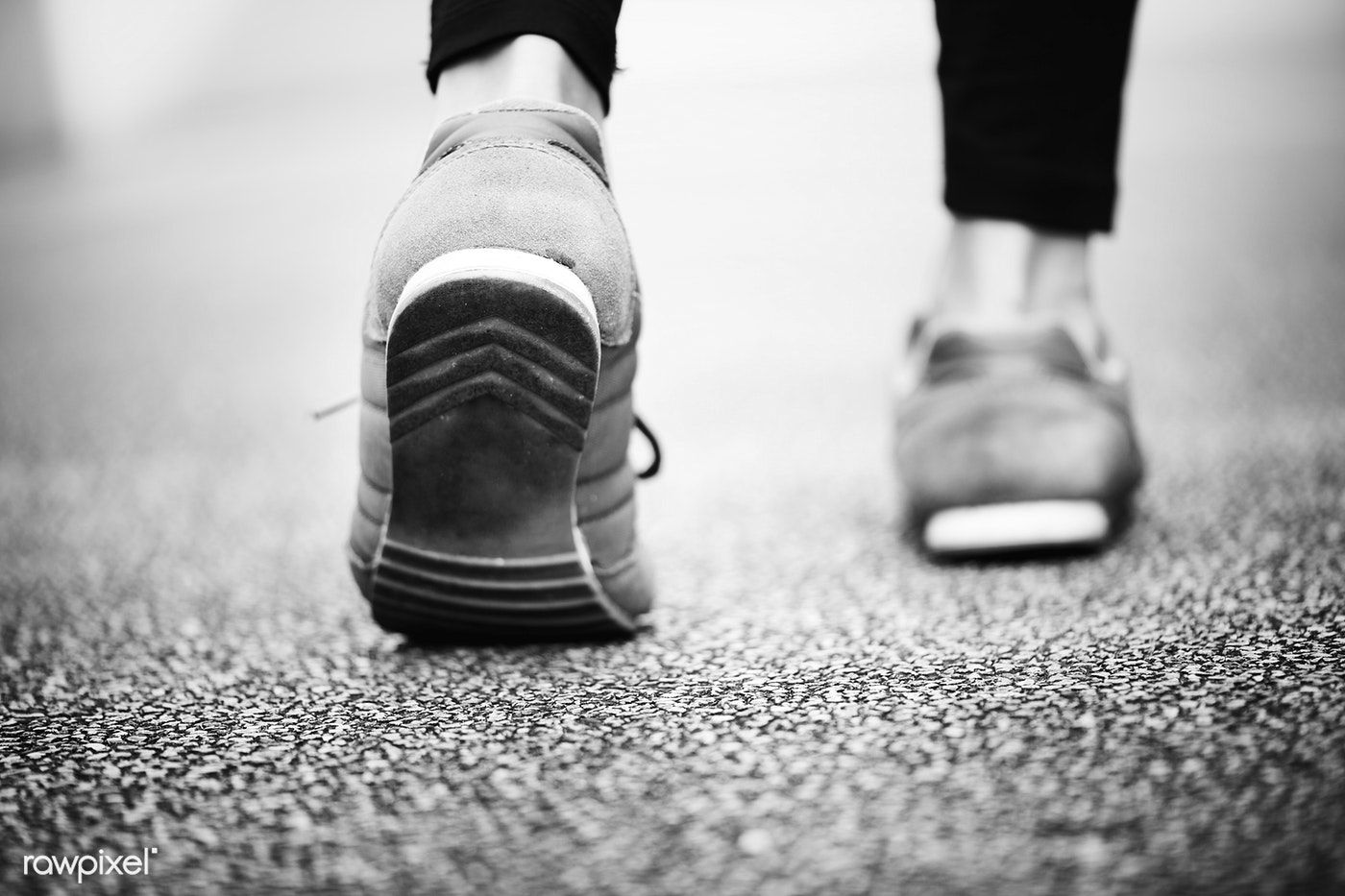 Closeup Of A Pair Of Feet Walking Free Image By Rawpixel Com