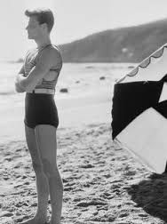 e4fc3a97f5 Image result for 1940's mens bathing suits for men in color ...