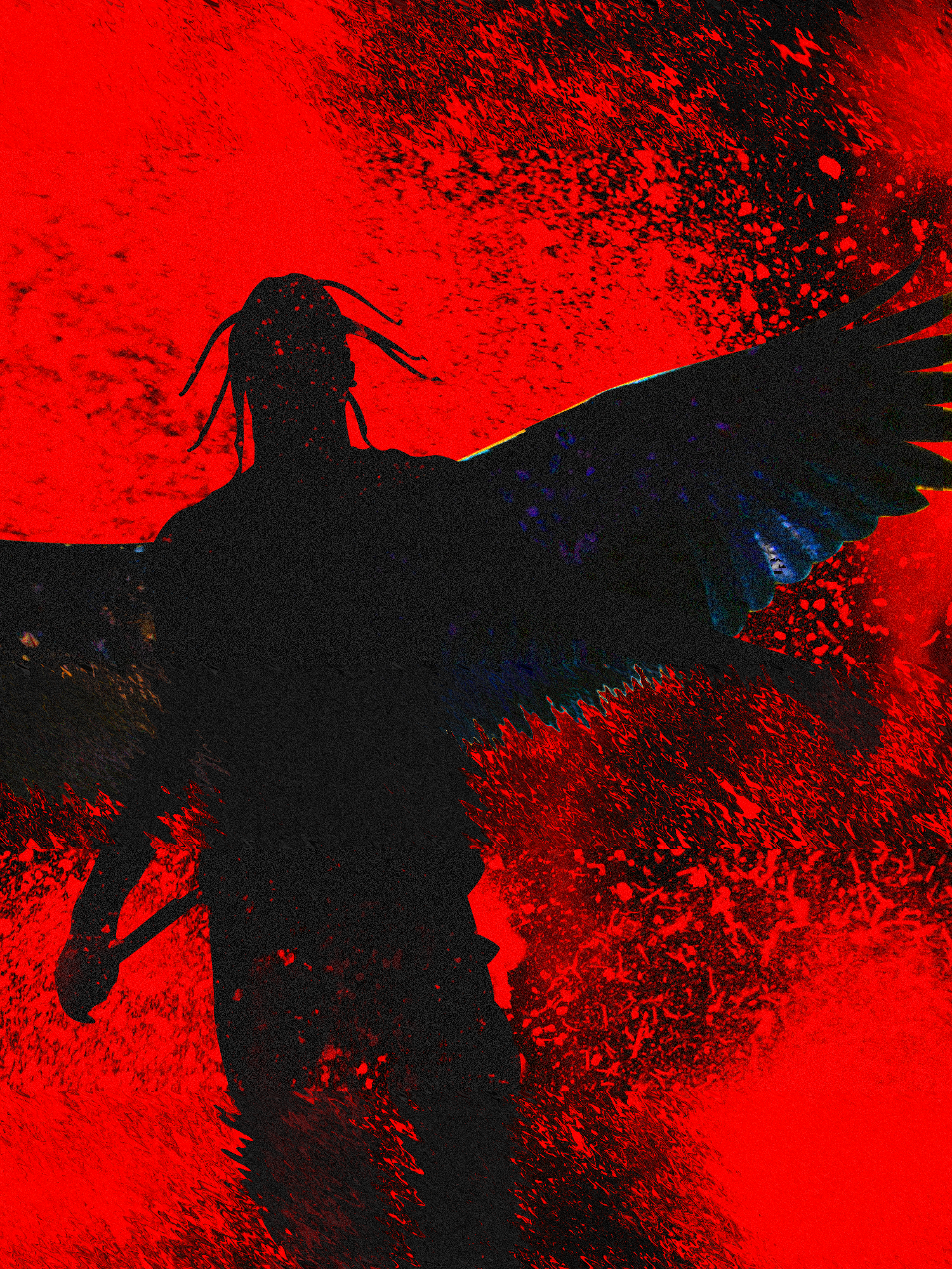 "Popatrz na mój projekt w Behance ""Travis Scott"