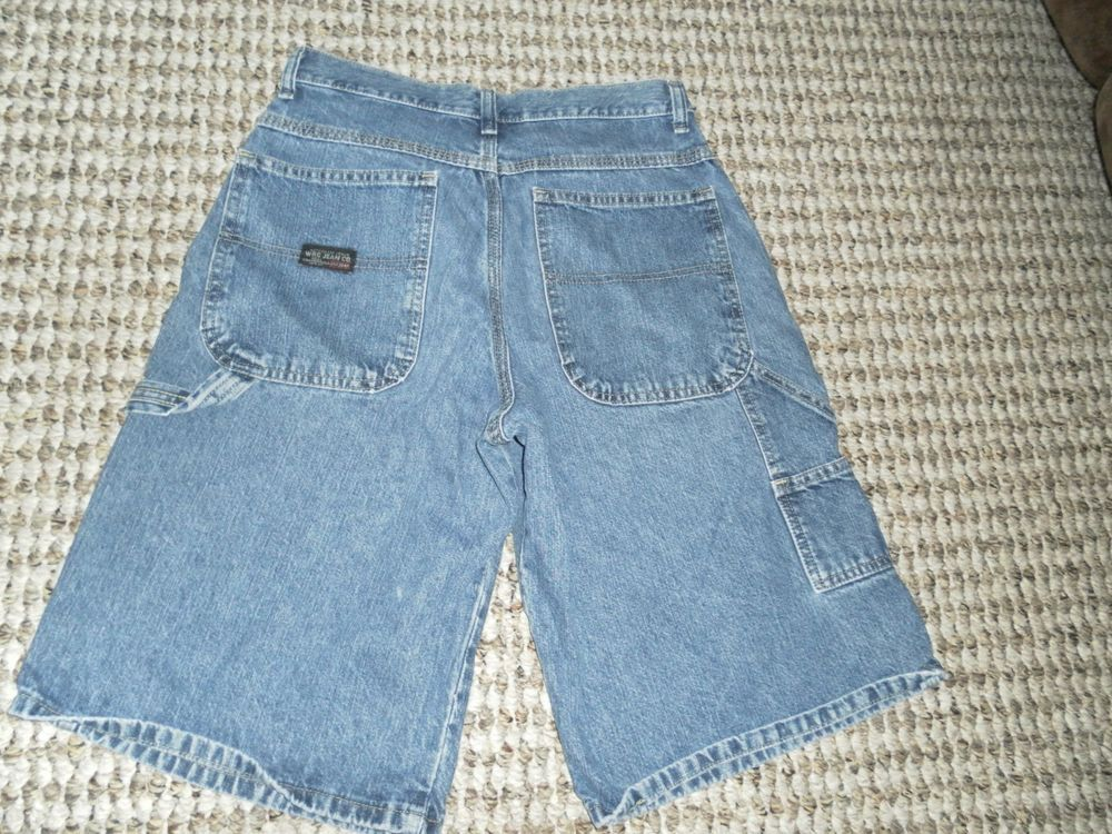 4417dbcf Wrangler Genuine 80's Vintage Boys Size 18 Regular Carpenter Shorts  #fashion #clothing #shoes #accessories #kidsclothingshoesaccs  #boysclothingsizes4up ...
