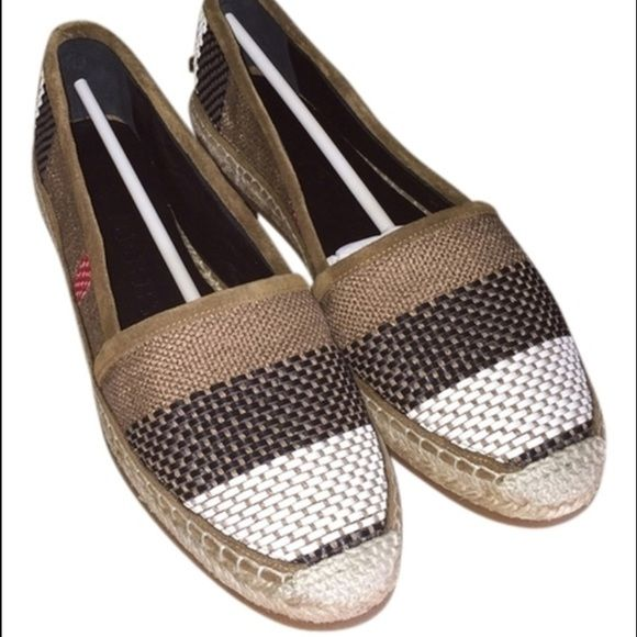 NEW Burberry Espadrilles BRAND NEW BURBERRY ESPADRILLES! Comes with all original packaging, documents, and dust bag. Burberry Shoes Espadrilles