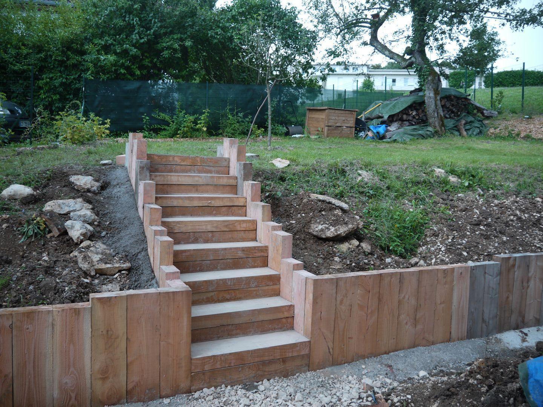 See original image jardin pinterest escalier en for Jardin potager en escalier