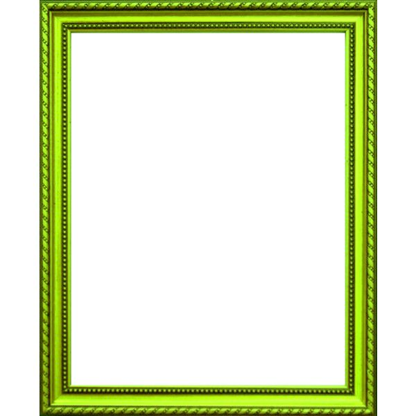 Neon green frame ❤ liked on Polyvore featuring frames, borders ...
