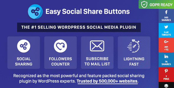 5+ Best WordPress Social Media Share/Counter Plugins | Best