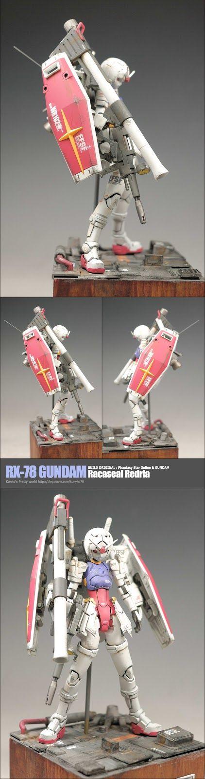 RX-78 Gundam Racaseal Redria - Custom Build     Modeled by Kunho