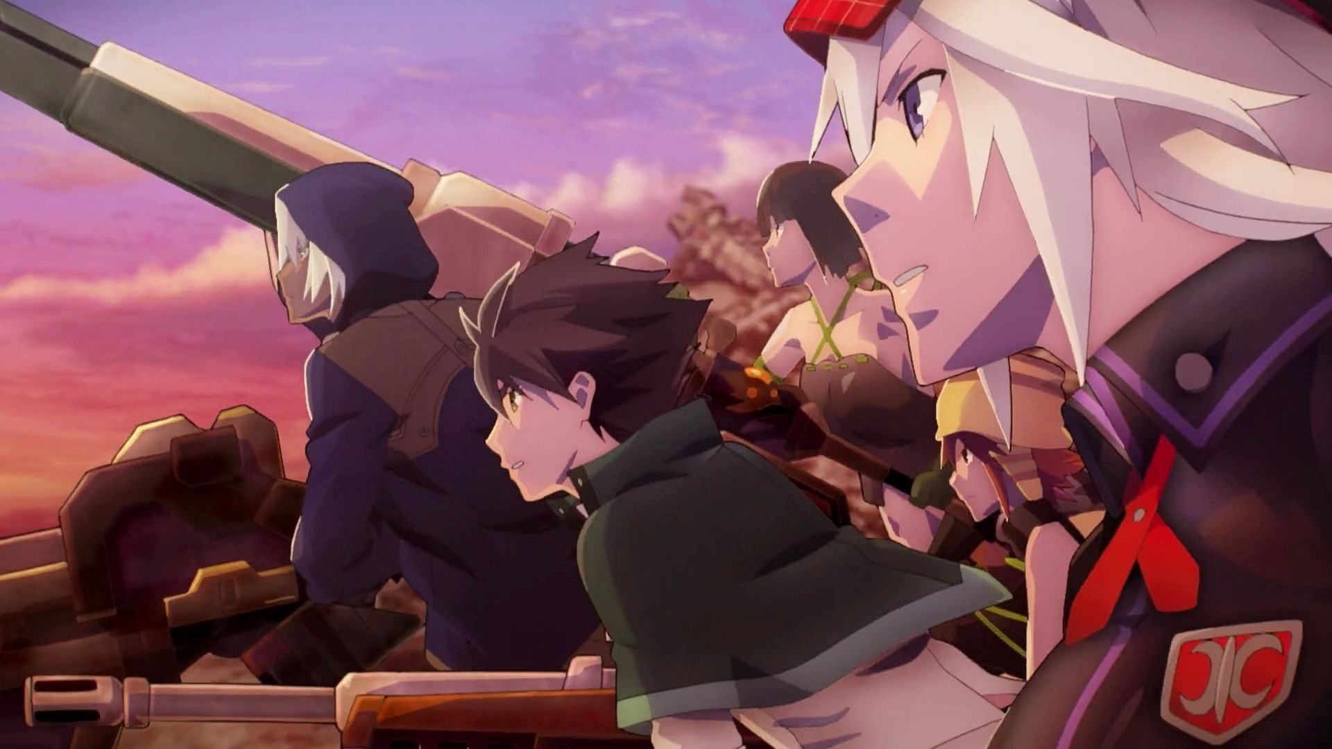 God Eater the animation Charge! XD Anime Summer 2015