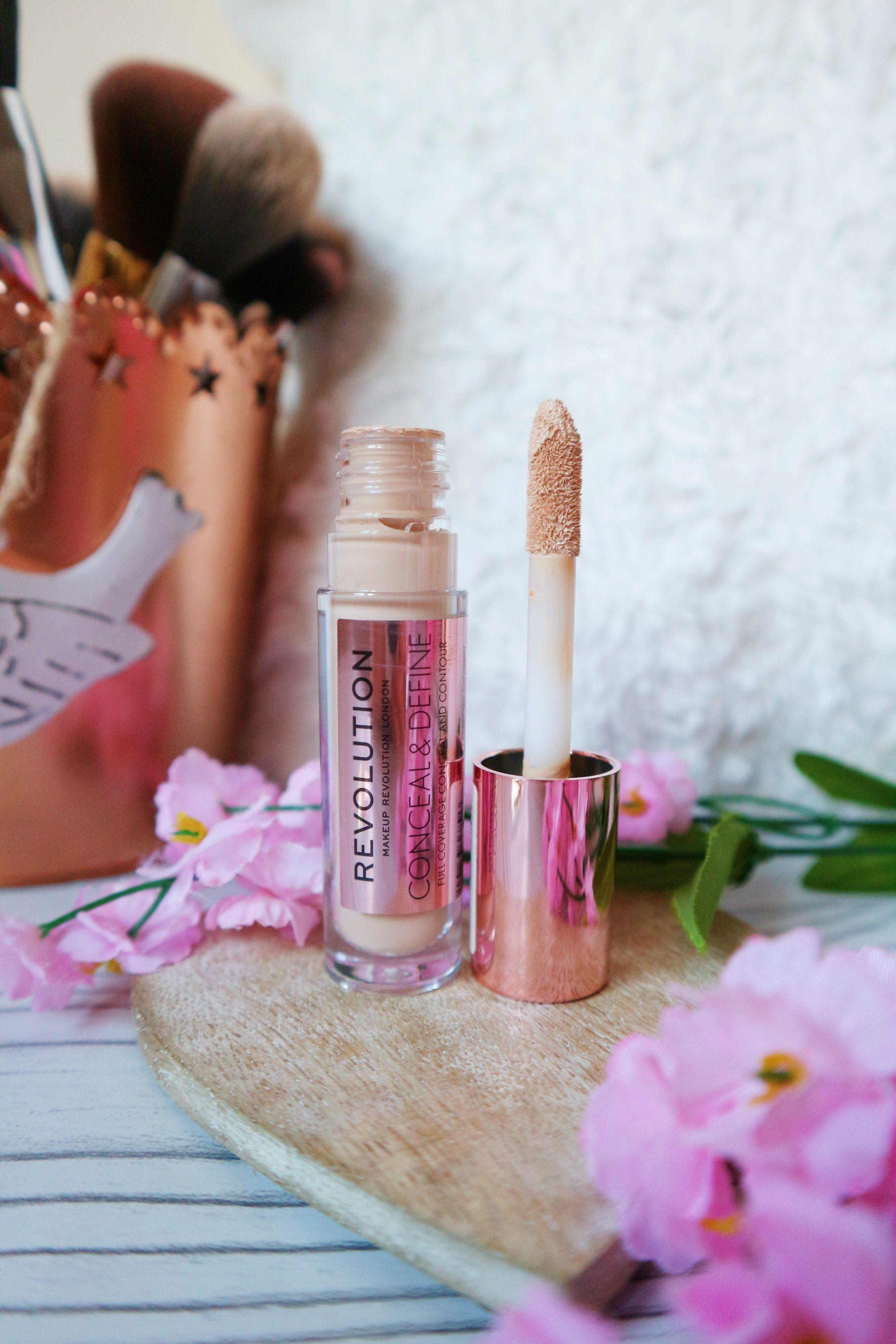 Makeup Revolution Conceal and Define Concealer in 2020