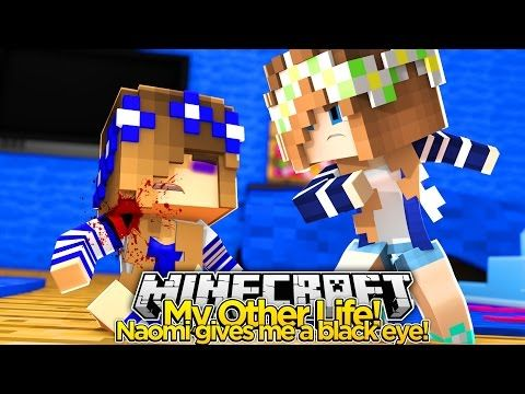 My Other Life #11-NAOMI GIVES LITTLE CARLY A BLACK EYE (Minecraft Roleplay) - YouTube