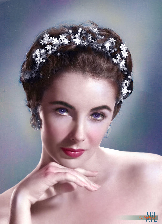 Elizabeth Taylor, ca 1954 in 2020 Elizabeth taylor