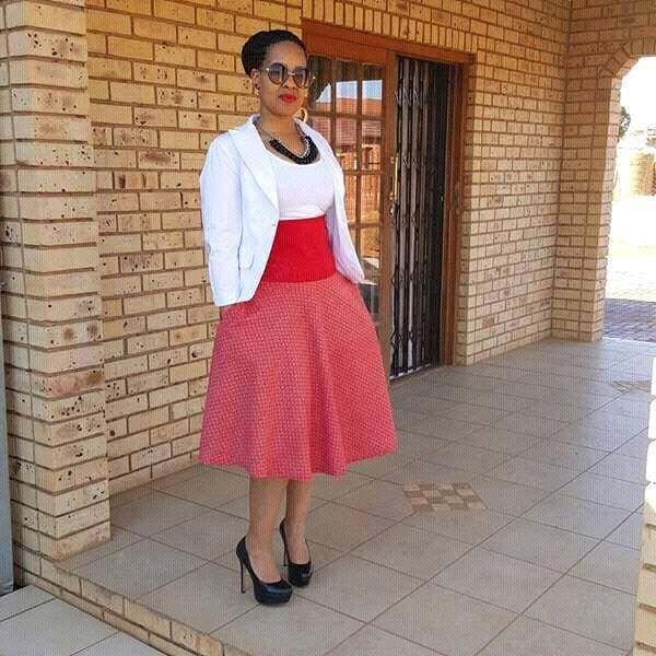 Simple Shweshwe Dresses Outfits 2017