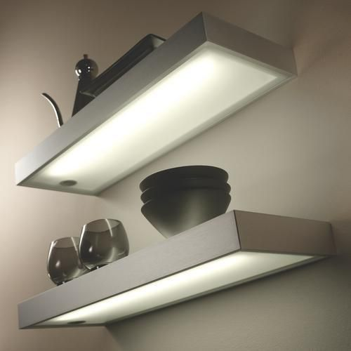 Box Shelf Kitchen Light - Wickes