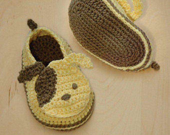 Crochet Pattern - Slip-On Toddler Lazy Shoes Size 4, 6, 7, 8, 9 ...