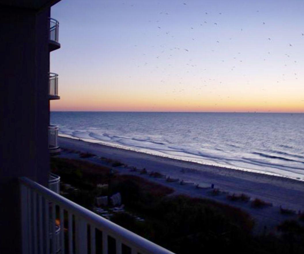View Of The Atlantic Ocean In Myrtle Beach South Carolina Myrtle Beach South Carolina Trip