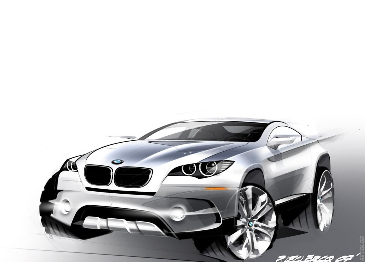 2007 BMW X6 ActiveHybrid Concept | BMW | Pinterest | Bmw x6, BMW and ...