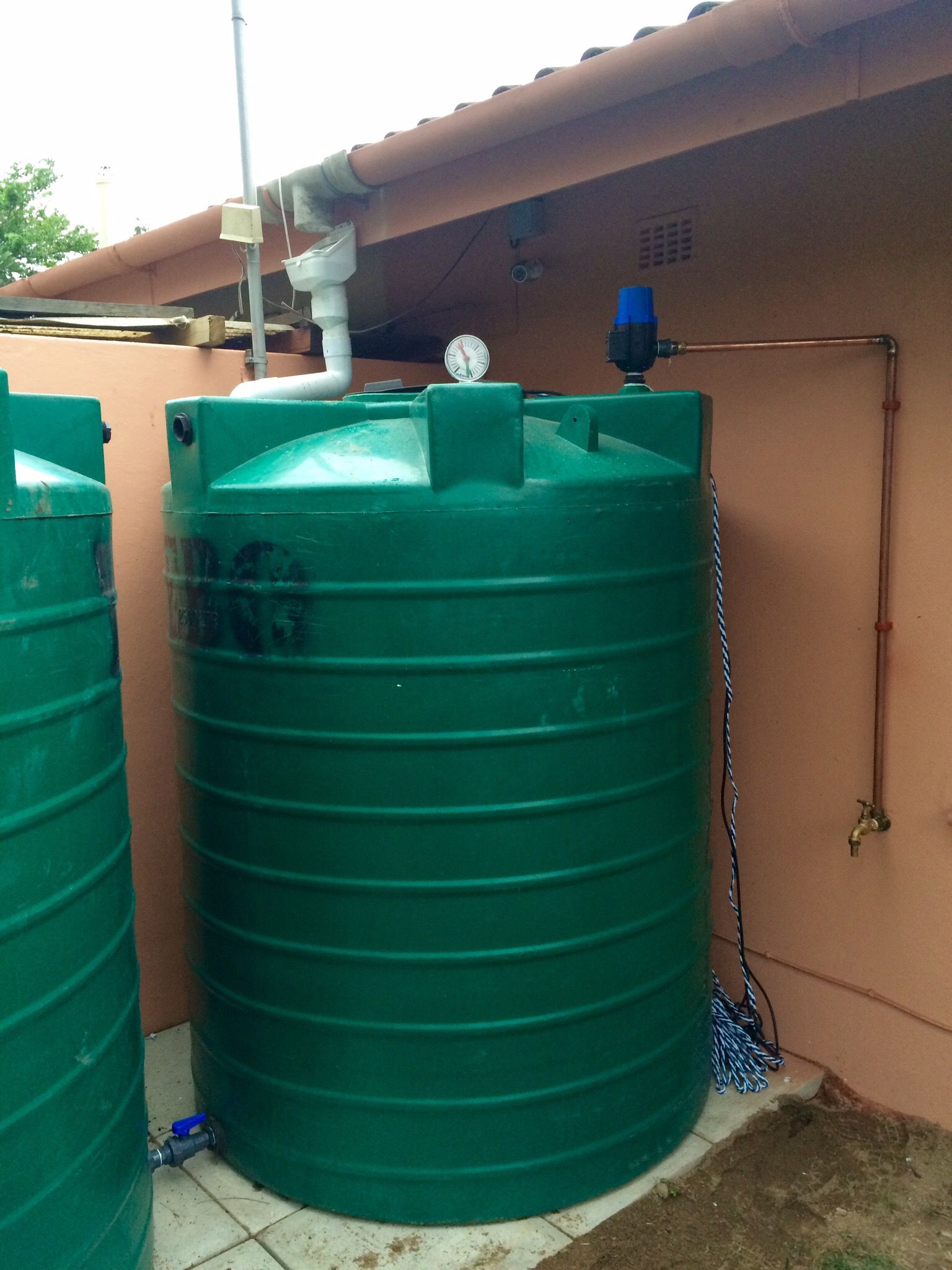 Simple Rainwater Harvesting System To Recover Rainwater For Washing Agua Muebles