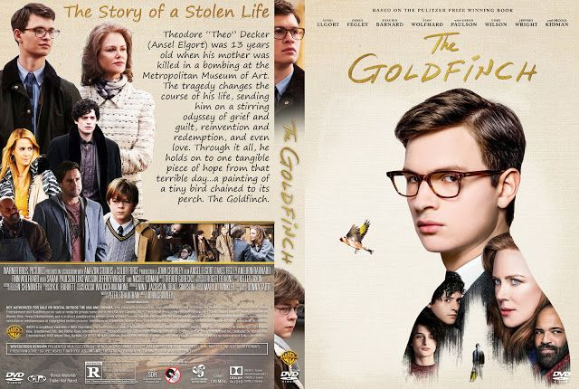 The Goldfinch Dvd Cover Dvd Covers Movie Blog Dvd