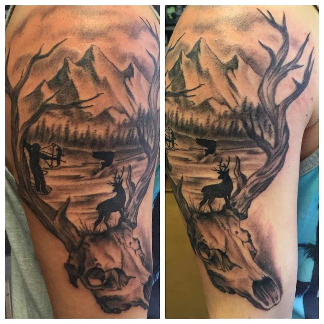 Hunting tattoos for guys
