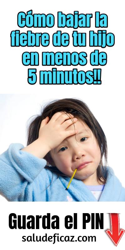 Haciendo Esto Puedes Bajar La Fiebre De Tu Hijo En Menos De 5 Minutos Caseros Sofia Remedies