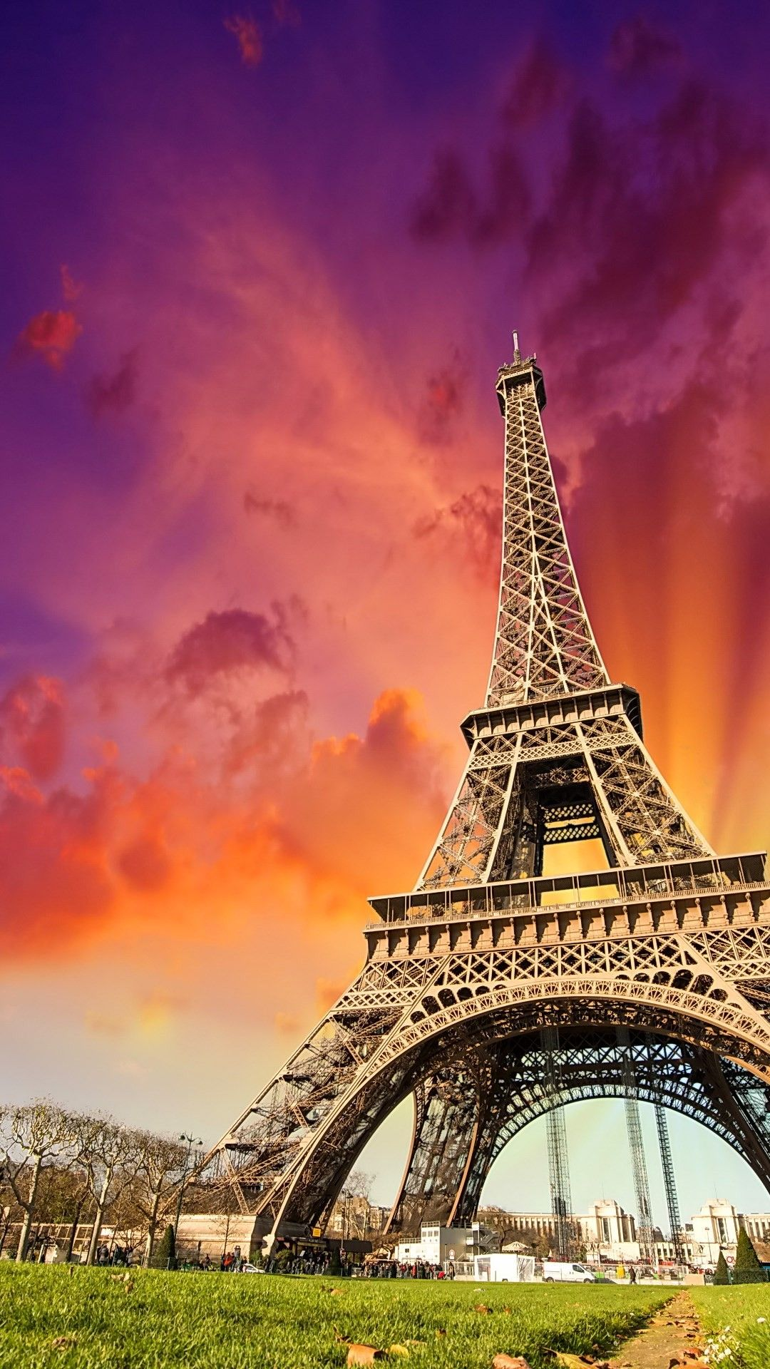 France Tower Smartphone 1080p Phone Wallpapers Hd Eiffel Tower France Tower Tower