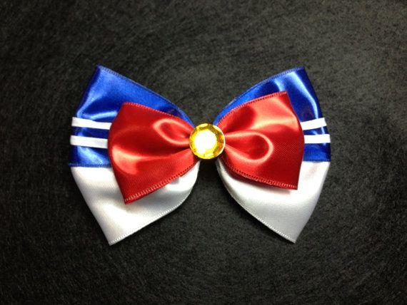 Sailor Moon Inspired Hair Bows