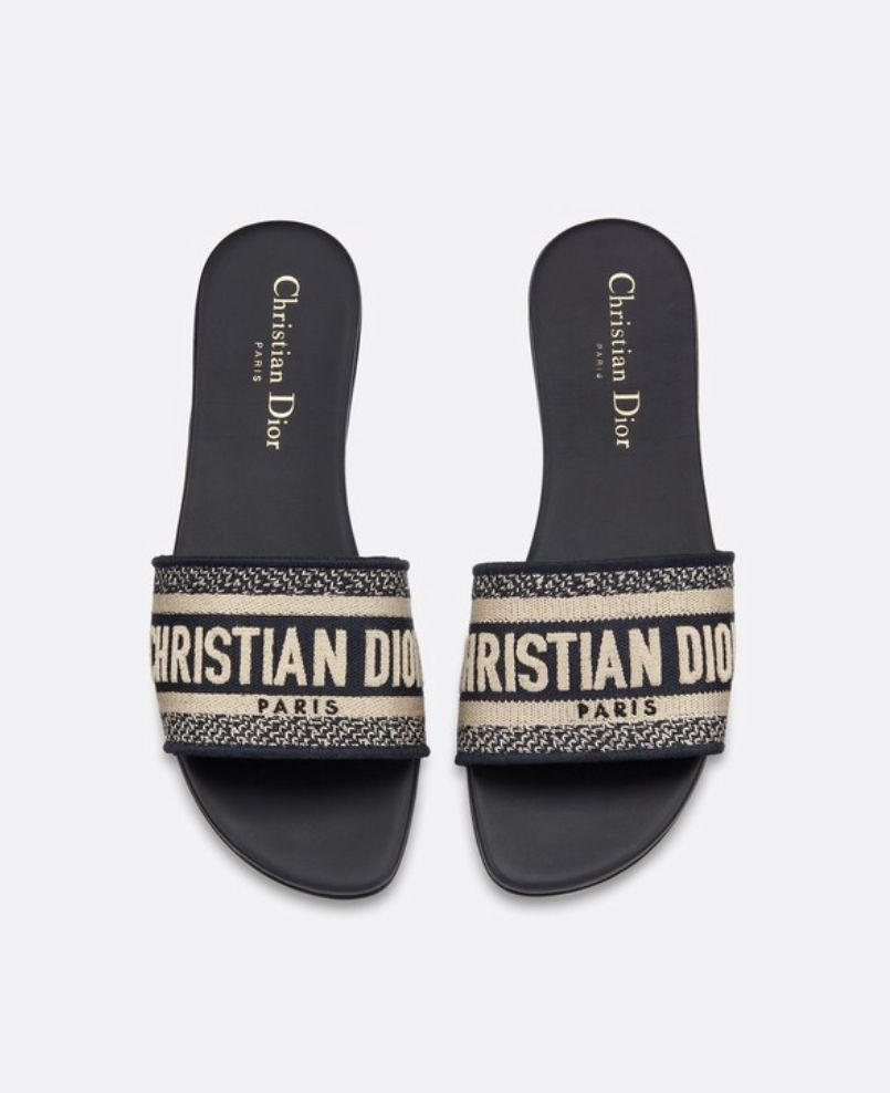 6abccd6561 Dior Dway Mules | wish list in 2019 | Dior sandals, Dior shoes, Shoes