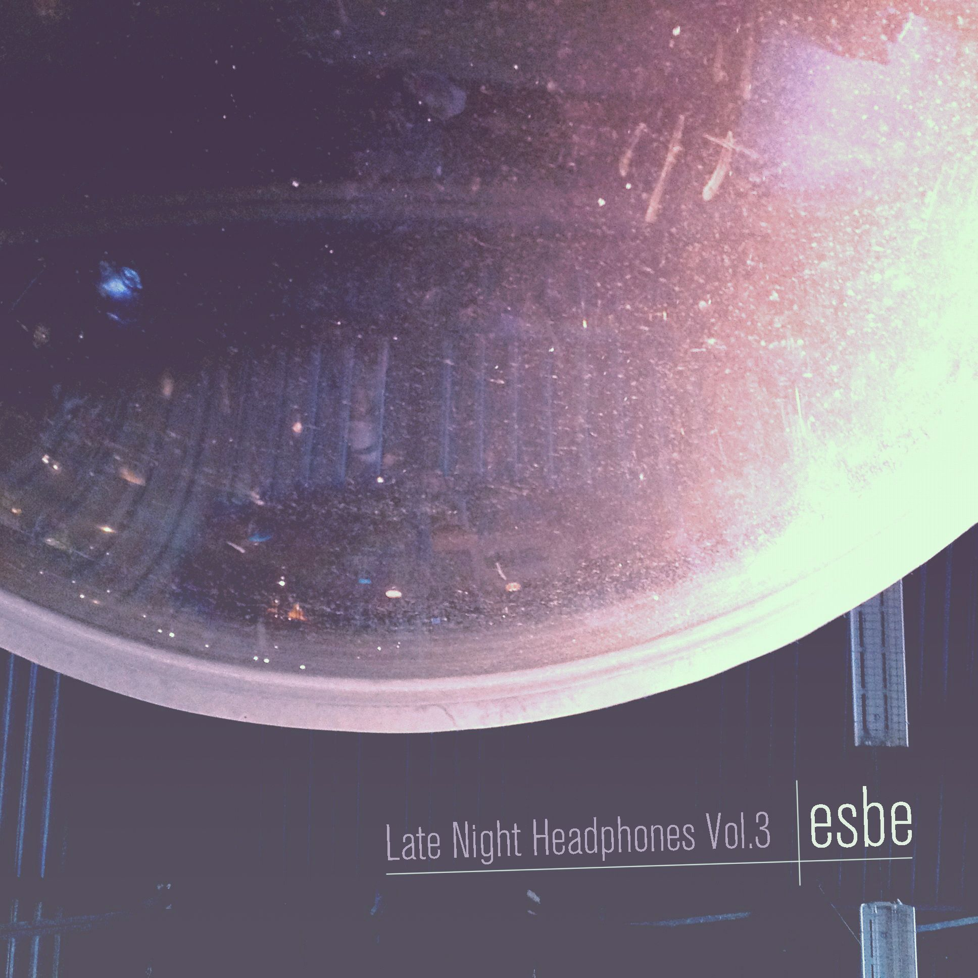 Late night headphones Vol 3 cover art, chill songs to work
