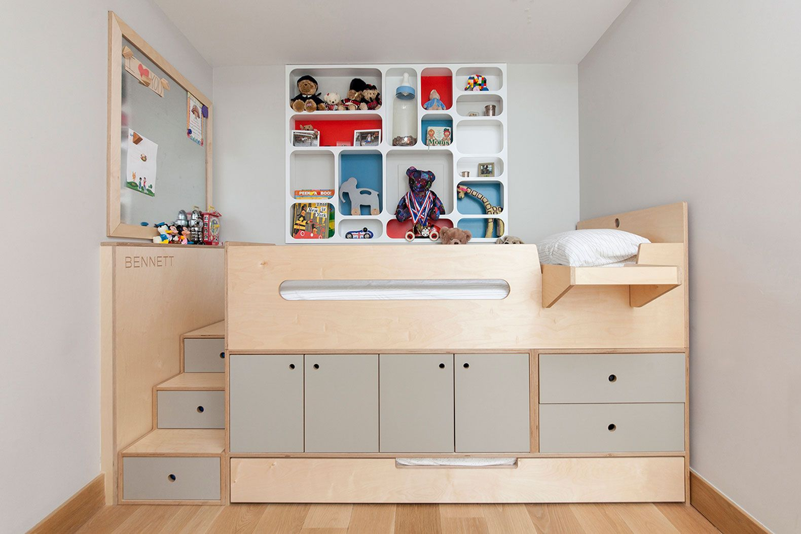 Casa Kids\' clever sleeping loft is a storage bed on steroids
