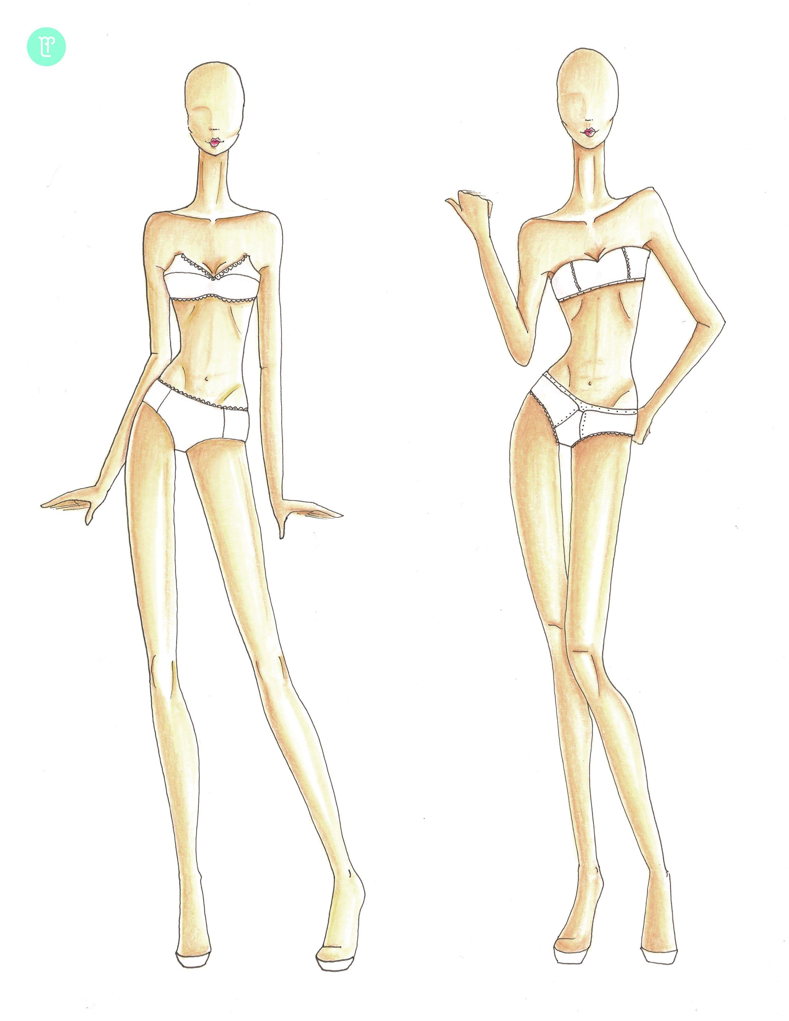 figurines de moda - Buscar con Google   fashion poses & silhouettes ...