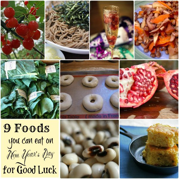 9 Foods to Eat on New Year's for Good Luck | New year's ...