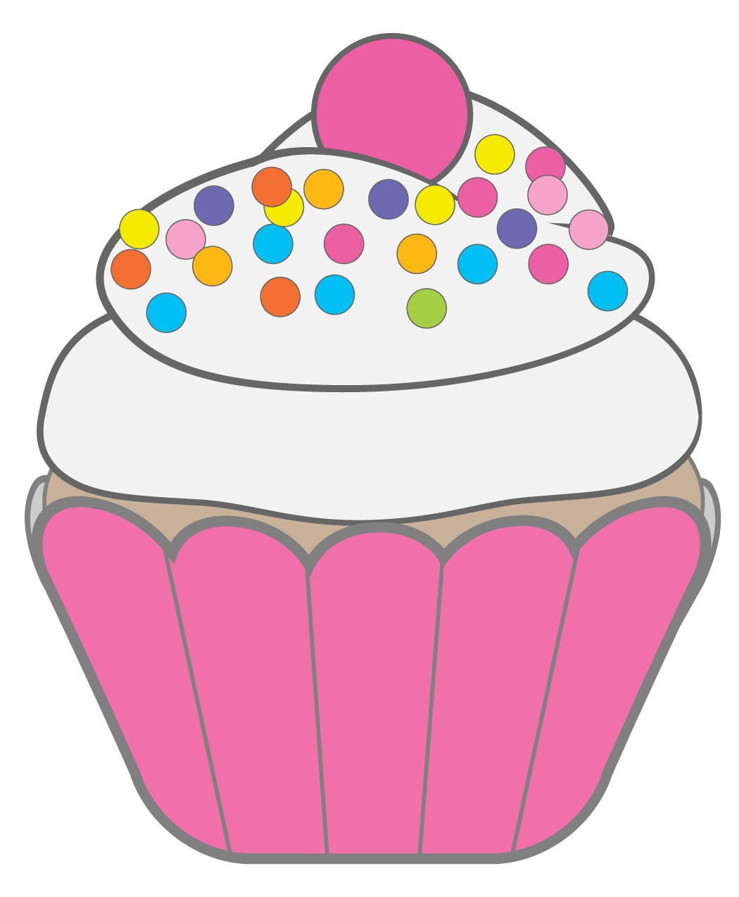 the barefoot chorister mama cakes barefoot primary chorister rh pinterest com cupcake clipart free cupcake clipart images free