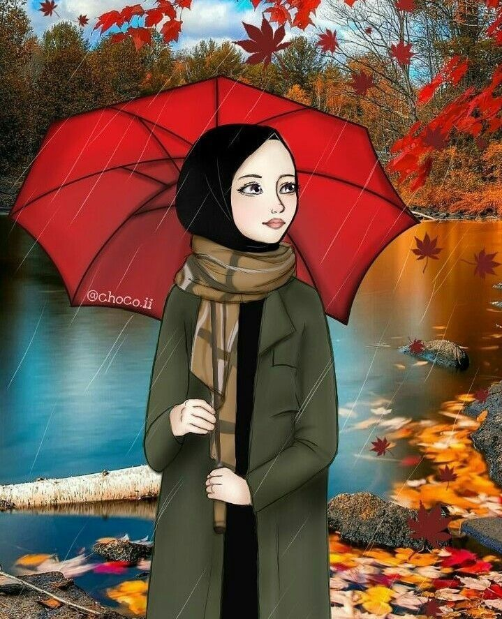 Pin by سلام تاقانه on حيجاب Girly drawings, Girly art
