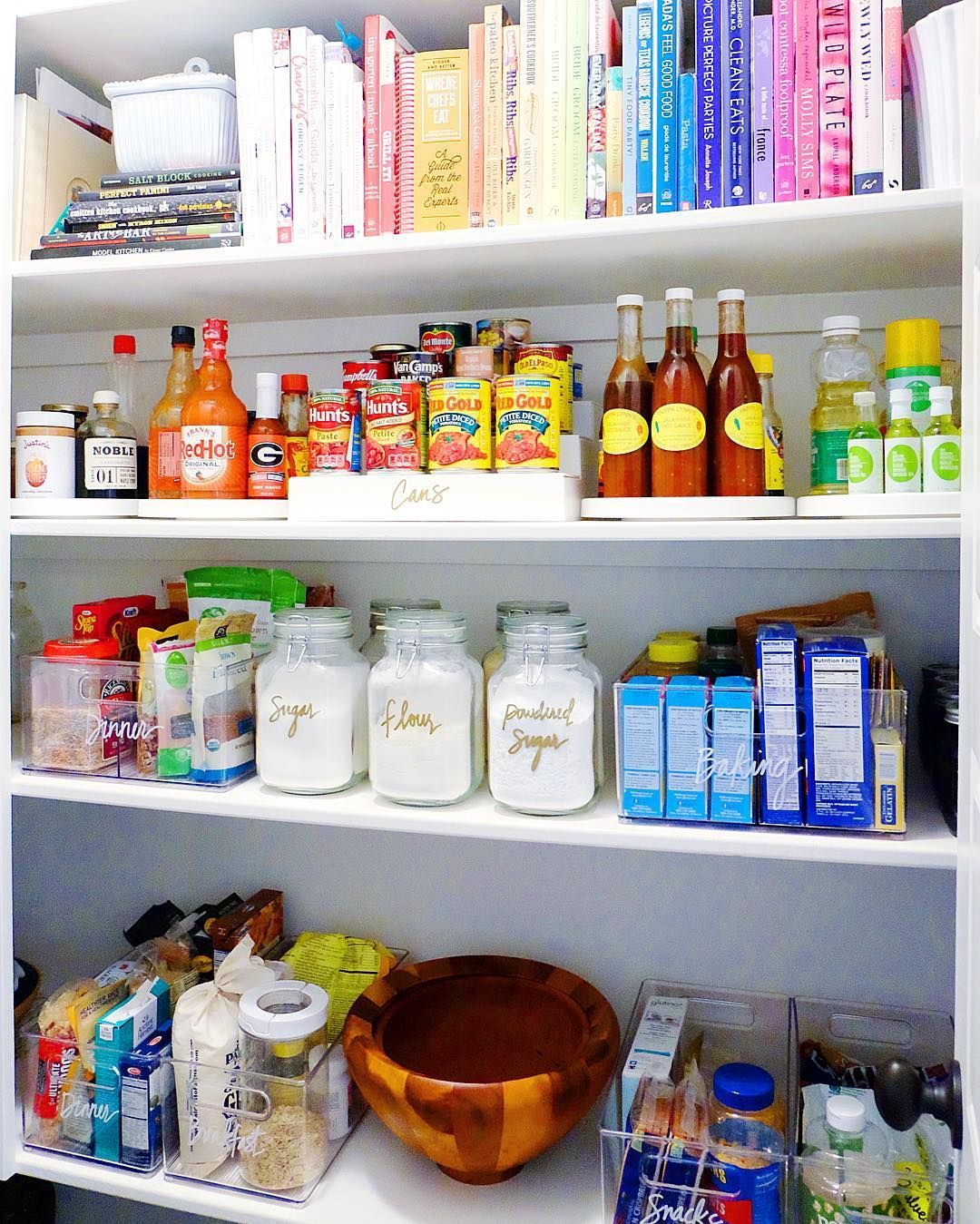 Home Edit Pantry Ideas