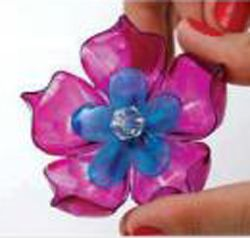 Pretty Petals from Plastic