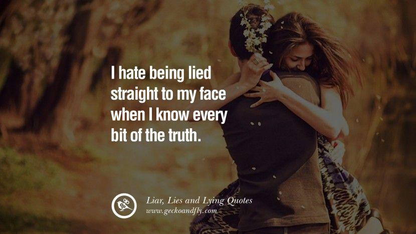 when boyfriend lies