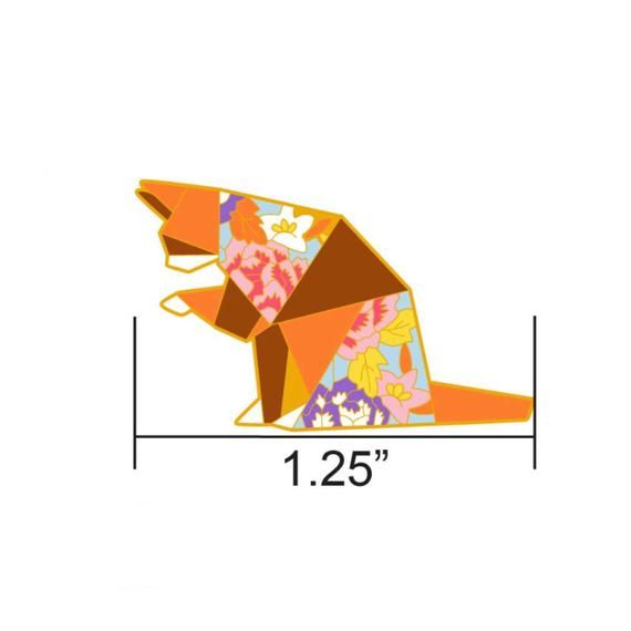 Photo of VORBESTELLUNG: Origami Tabby Cat Emaille Pin, Cat Emaille Pins, Origami Schmuck, Katzengeschenk, Cat Lover, Origami Ca.