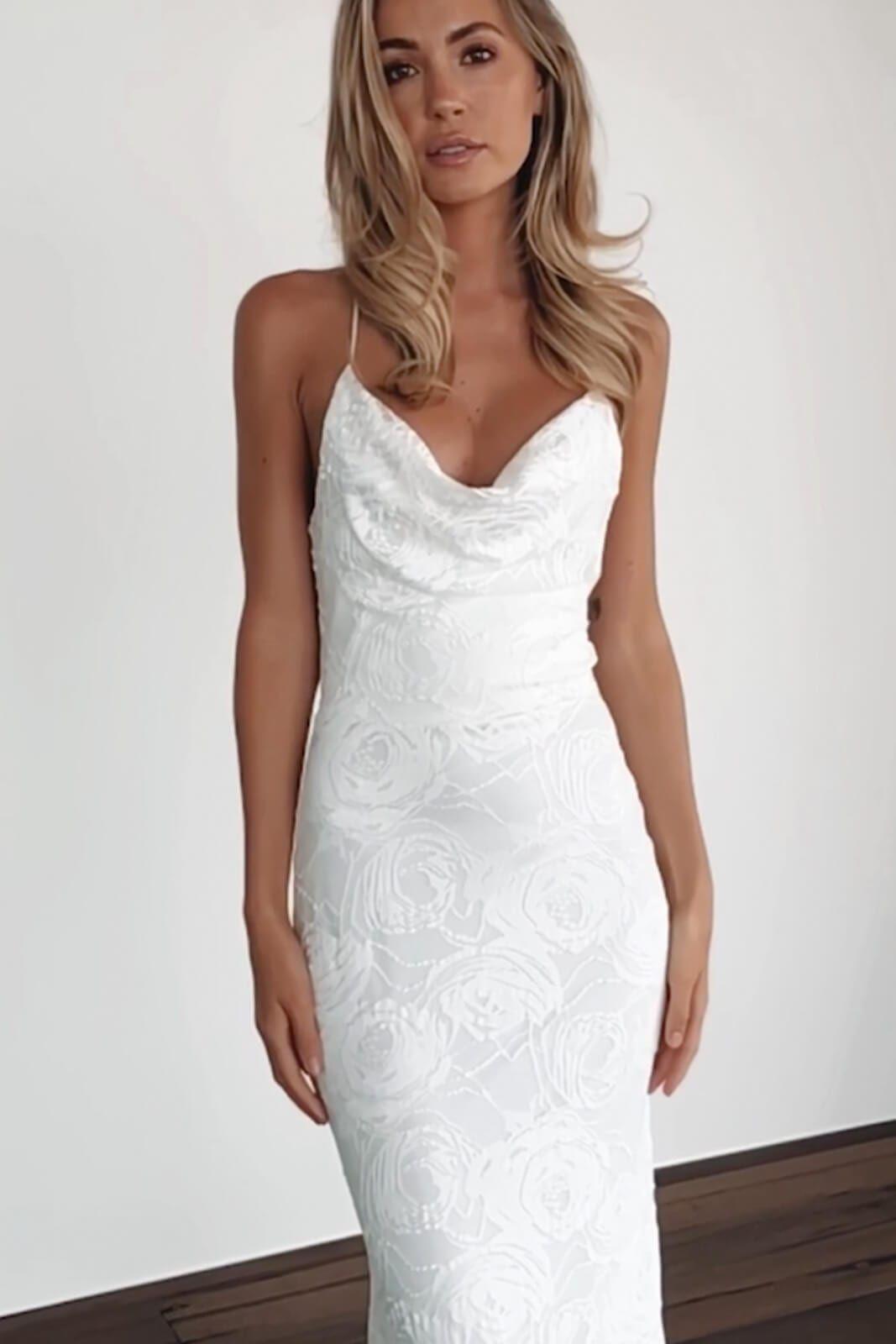 Honey rose gown lace wedding dress wedding dresses