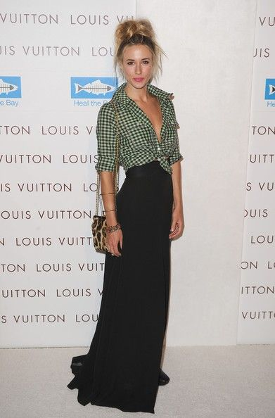 Love the casual top....dressy long skirt. I actually did this for ...
