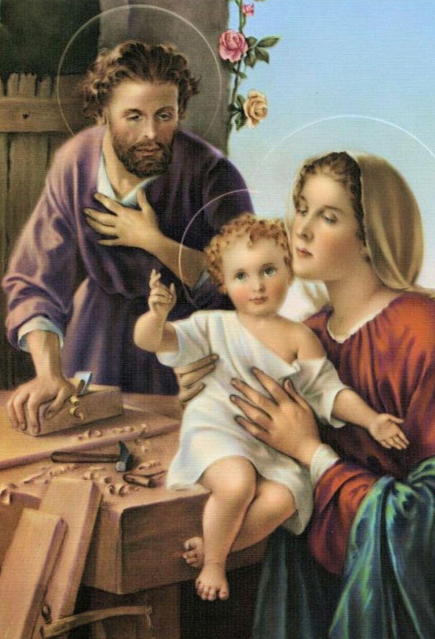 Sagrada Familia Refugio Amoroso Y Seguro Hogar Piadoso Y