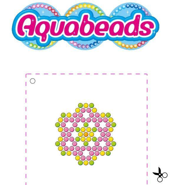 1e5d2f097f88db060c6d435df0a649fb Jpg 591 627 Pixels Flower Template Create And Craft Aqua Beads