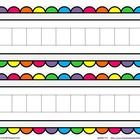 Set out these colorful work mats, some skittles, Unifix cubes, bears or any other item and you have a fun and easy center or activity for your litt...