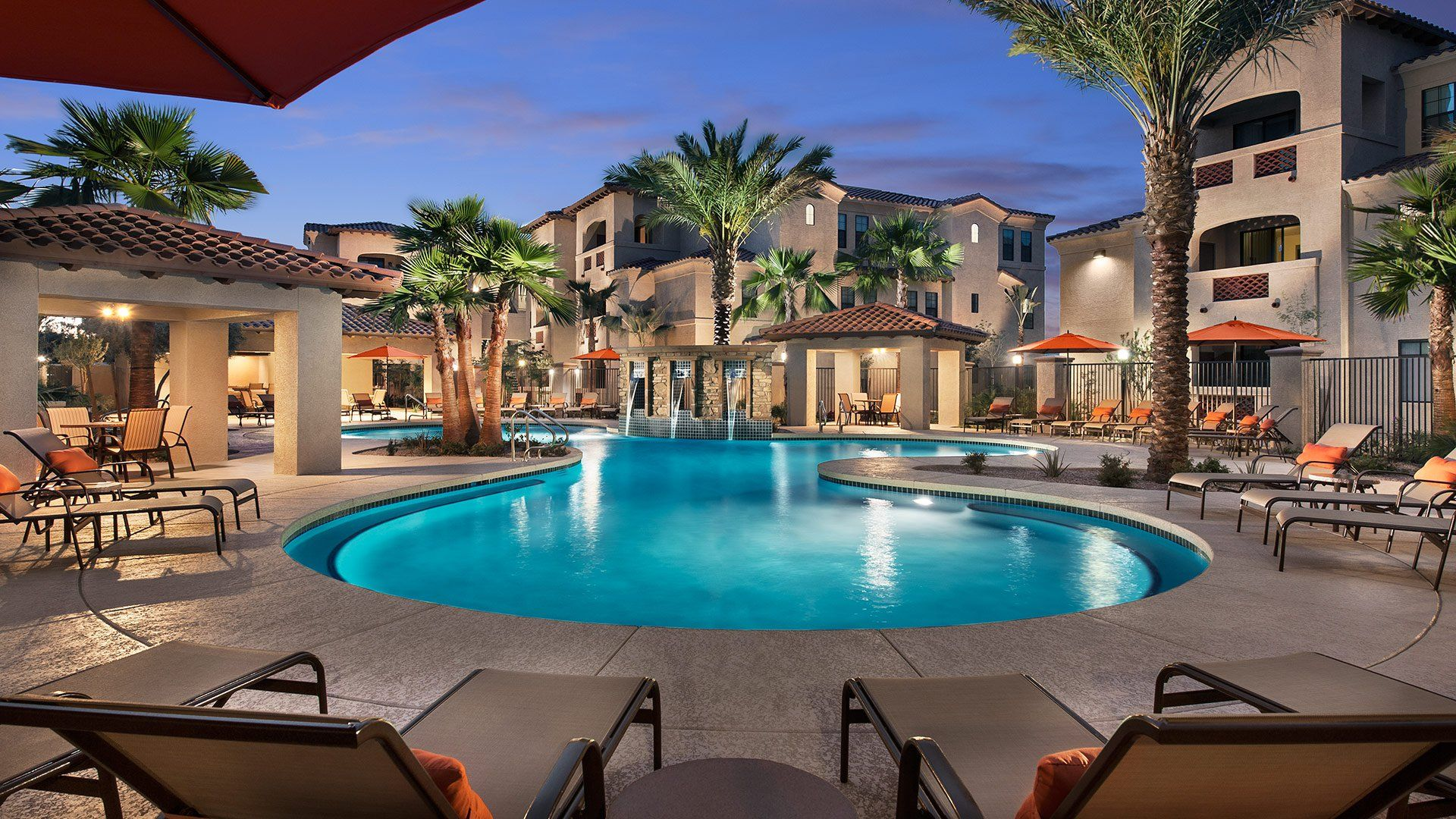 Luxury Apartments In Phoenix San Milan North Phoenix Luxury Apartments Apartment Pool 2 Bedroom Apartment Apartments For Rent
