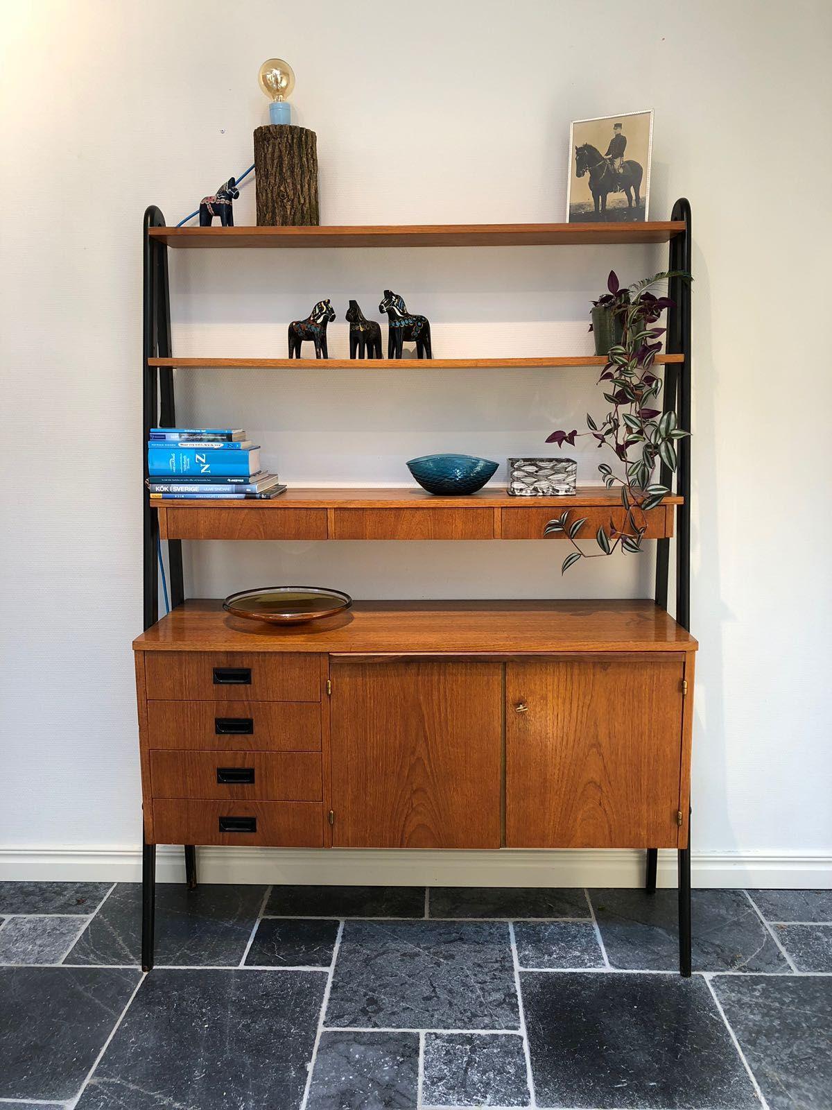 Scandinavisch Design Zweeds Deens Teak Meubel Vintage Retro
