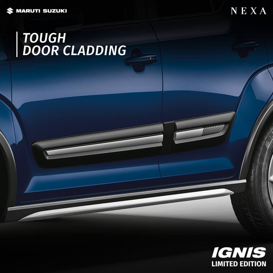 The Tough Door Cladding Enhances The Look Of The Marutisuzuki