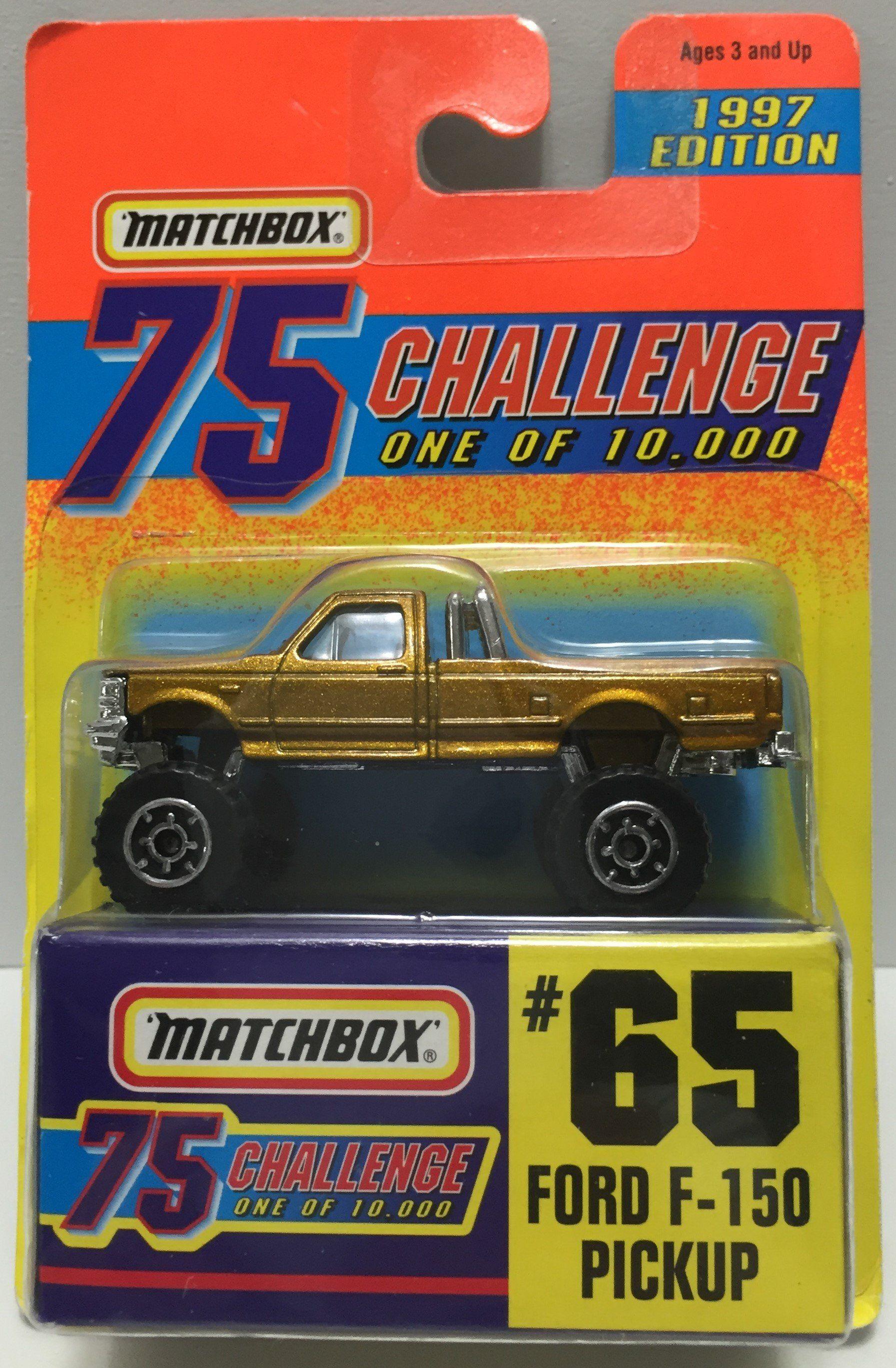 Tas037514 1996 Matchbox 75 Die Cast 65 Ford F 150 Pickup Matchbox Diecast Ford F150