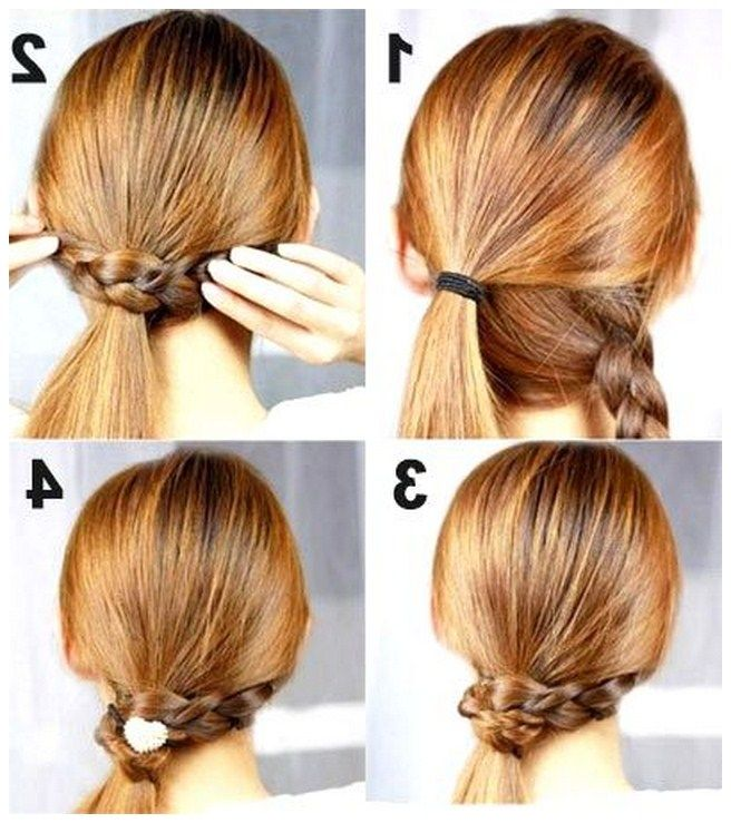 Astonishing Hairstyles Cute Summer Hairstyles And Step By Step On Pinterest Short Hairstyles Gunalazisus