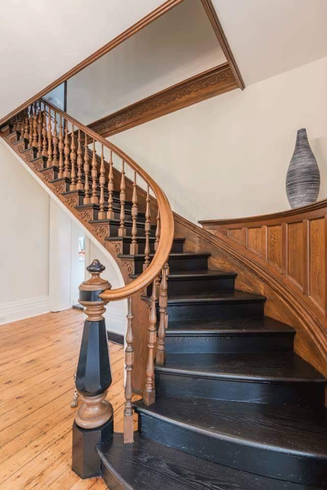 Best 1875 Second Empire In Pelham Ontario Canada Staircase 400 x 300