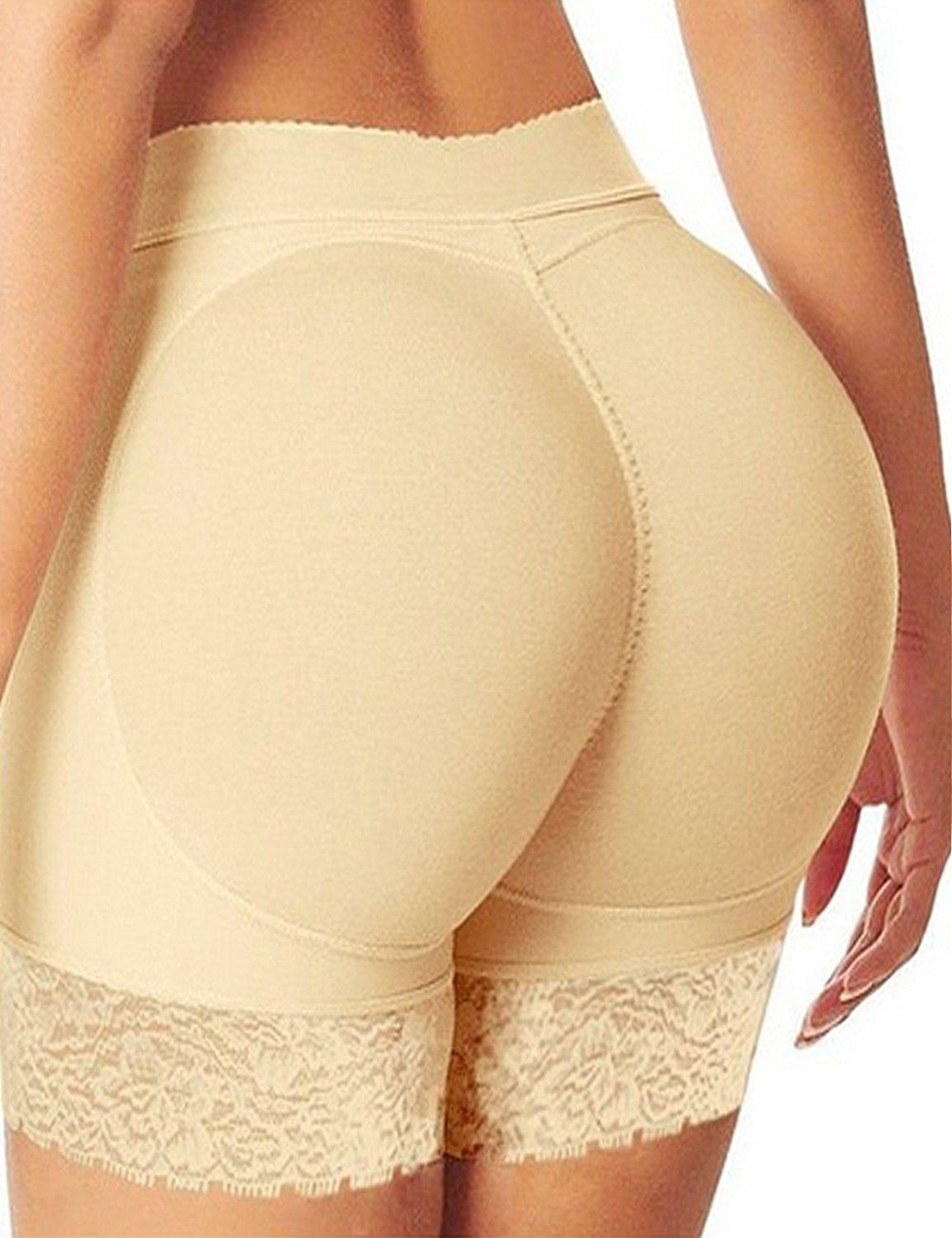 3e3158bf3 Junlan Hip and Butt Enhancer Padded Panty Boyshorts Jacquard Butt lifter  Brief -- Quickly view this special product
