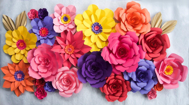 Diy paper flower backdrop by kmhallbergdesign on etsy httpswww diy paper flower backdrop by kmhallbergdesign on etsy httpsetsylisting385198998diy paper flower backdrop mightylinksfo